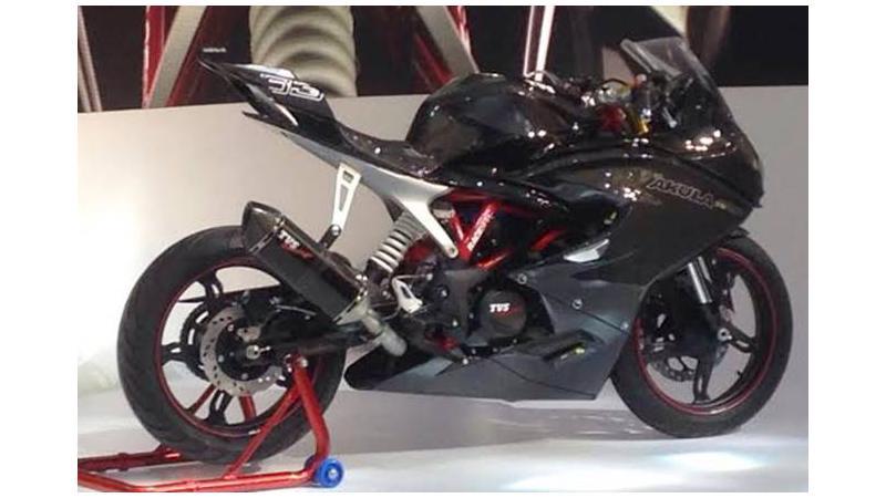 2016 Auto Expo: TVS Akula 310 unveiled