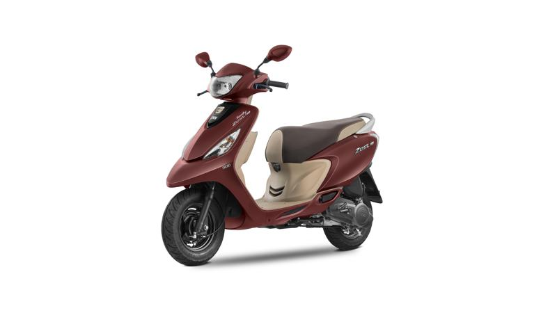 2017 TVS Scooty Zest 110 launched with BSIV updates