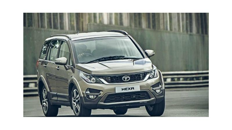 Tata Hexa to get AWD, automatic gearbox and driving modes