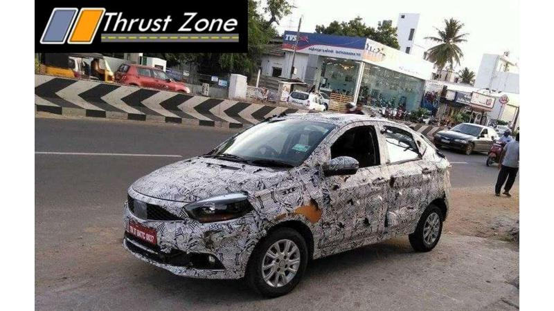 Tata Kite 5 spied on test again