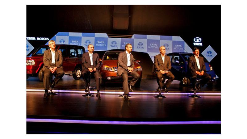 Tata Motors unveils 8 new revamped cars for 2013