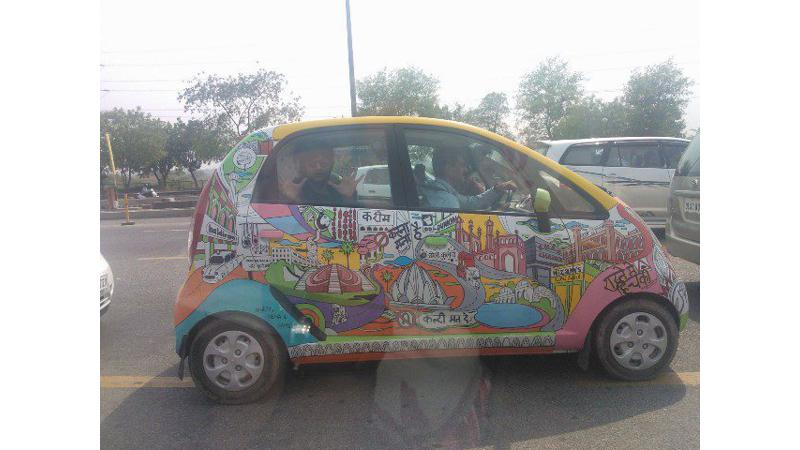 Nano: Art In Motion ties up with 'Fukrey' for an interesting contest
