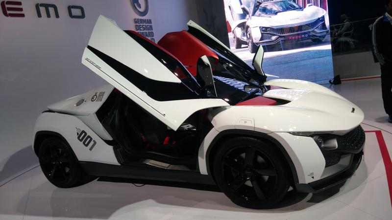 TAMO Racemo unveiled at 2018 Auto Expo