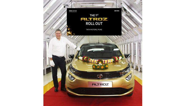 Tata Motors begins production of the Altroz, first unit rolls out of Pune plant