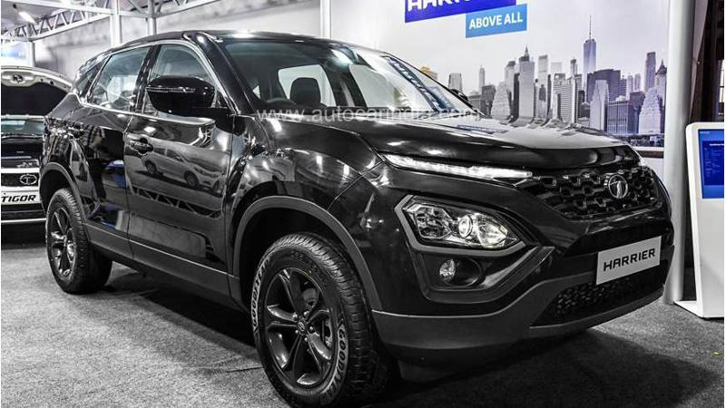 All-Black Tata Harrier leaked ahead of launch in August