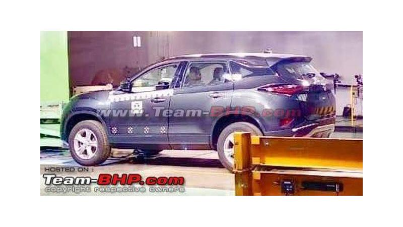Production-spec Tata Harrier revealed in pictures