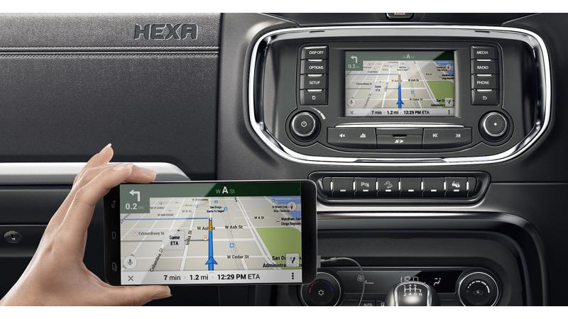 Tata Hexa's infotainment system to be compatible with various smartphone apps