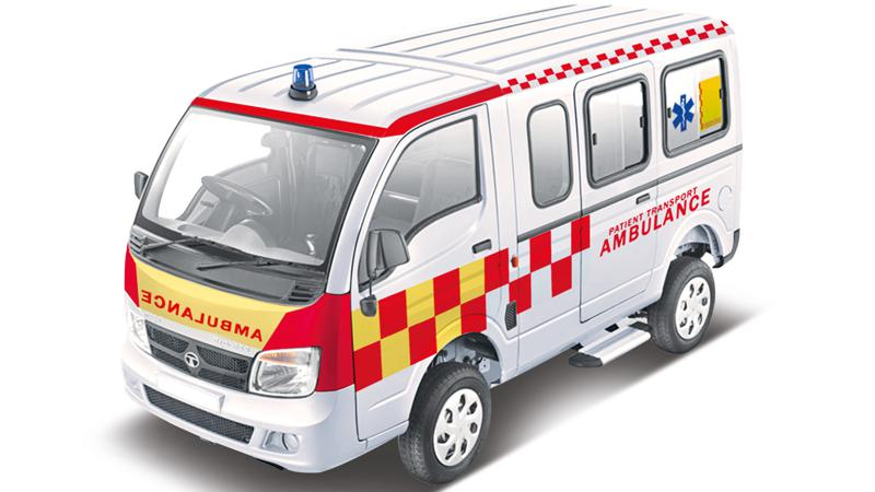 Tata Motors introduces the Magic Express Ambulance