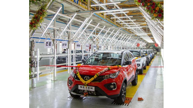 Tata Nexon breaches 1,50,000 unit production mark