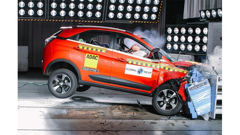 Tata Nexon awarded four-stars at Global NCAP