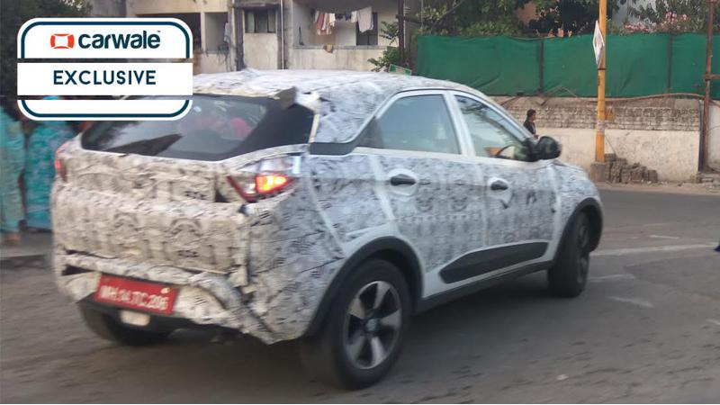 Tata Nexon spotted on test once again