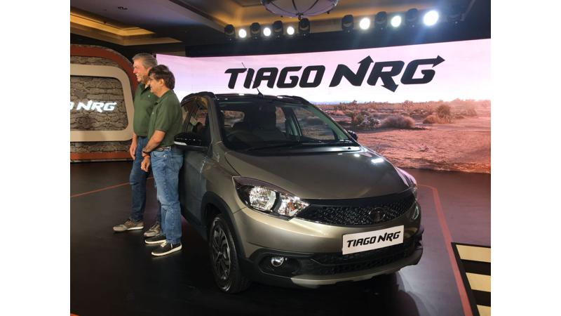 Tata Tiago NRG introduced in India for Rs 5.49 lakhs
