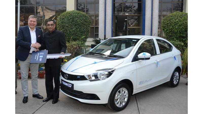 Tata delivers first batch of Tigor EV to EESL