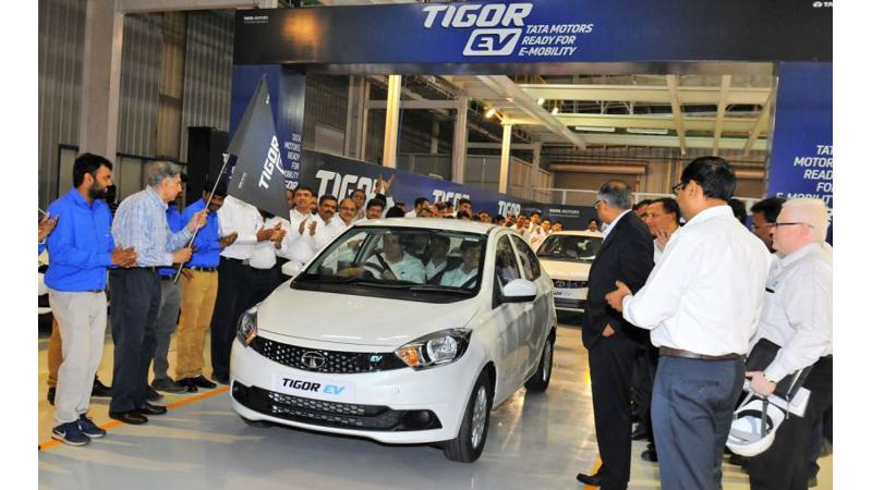 First batch of Tata Tigor EVs ready to be dispatched