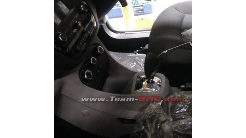 Tata Tiago automatic interior spotted ahead of launch