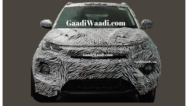 Tata Nexon facelift spied ahead of launch