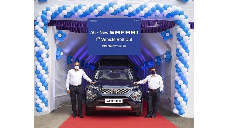 Tata Safari production commences at brand's Pune plant