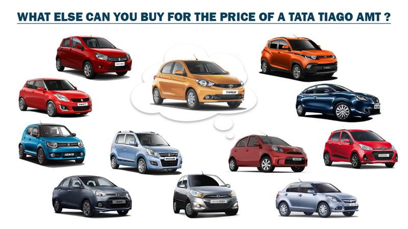 Tata Tiago AMT: What else can you buy?