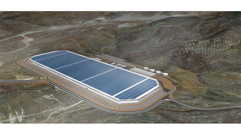 Tesla unveils new Gigafactory