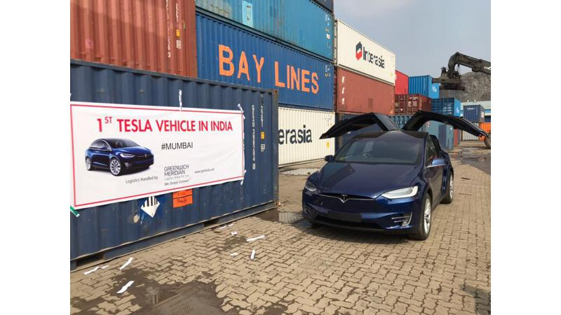 India gets first ever Tesla Model X