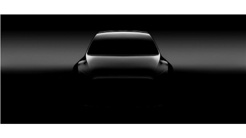 Tesla Model Y gets first teaser image