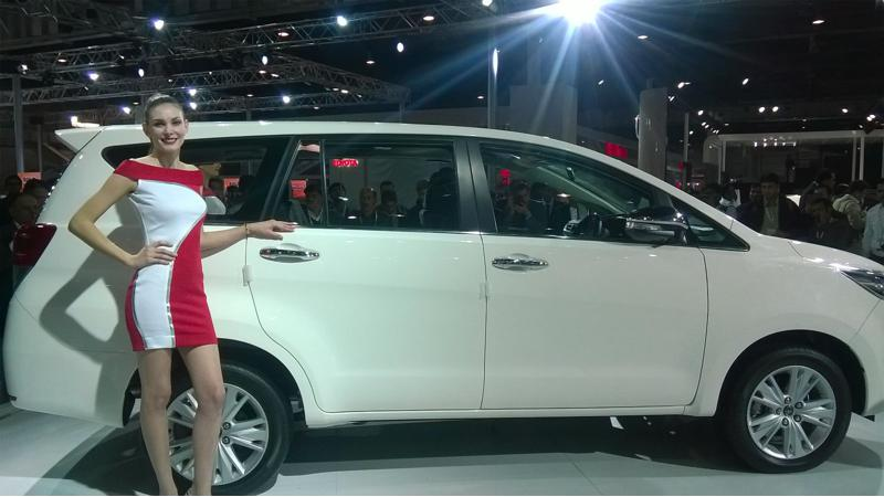 Toyota sells 7000 units of Innova in a month