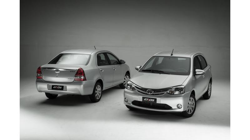 Toyota launches facelifted Etios in the Brazilian market