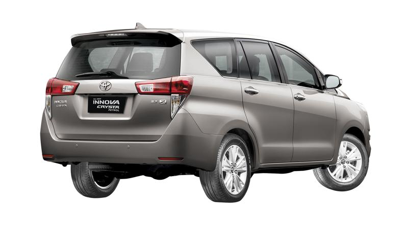 Toyota launches petrol Innova Crysta at Rs 13.73 lakh