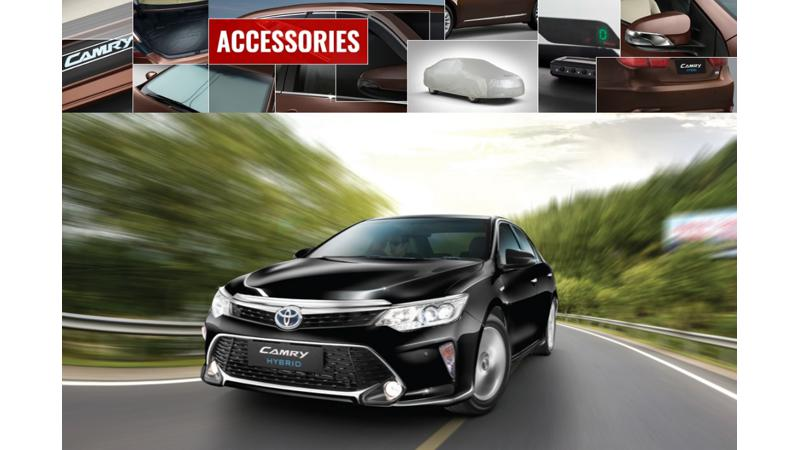 Toyota rolls out OEM accessories for 2017 Camry Hybrid