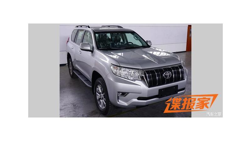 New-gen Toyota Land Cruiser Prado spotted undisguised