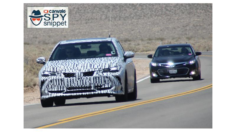 Next-gen Toyota Avalon spied in US