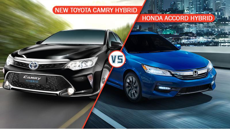 Toyota Camry Hybrid Vs Honda Accord Hybrid spec comparison