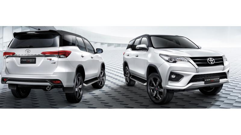 Toyota Fortuner TRD Sportivo India launch in September