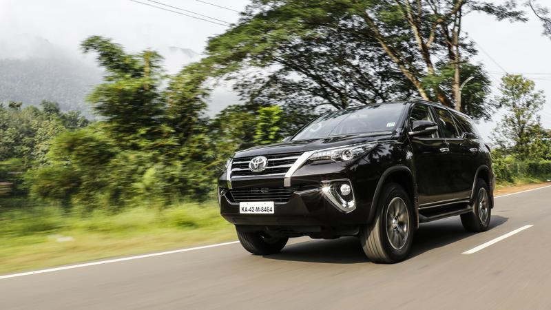 Toyota sells one lakh units of the Fortuner in India