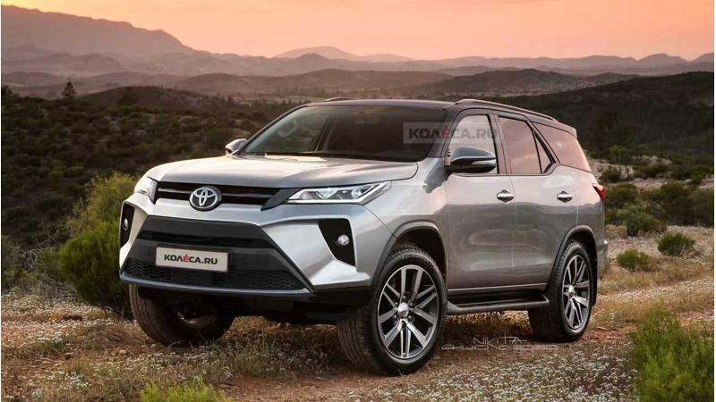 Toyota Fortuner facelift expected to be unveiled on 4 June