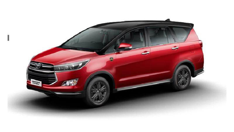 Toyota Innova Crysta Leadership Edition introduced in India