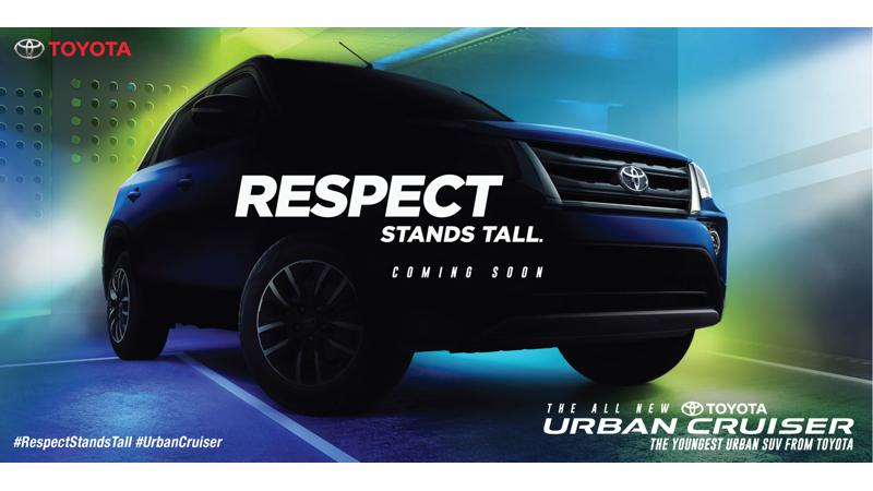 Toyota reveals the launch campaign theme for the Urban Cruiser
