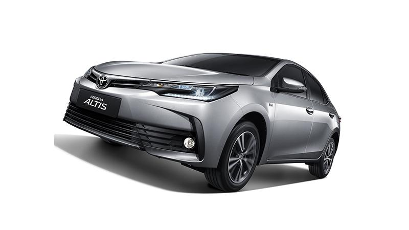 Toyota Corolla Altis facelift launched in Thailand
