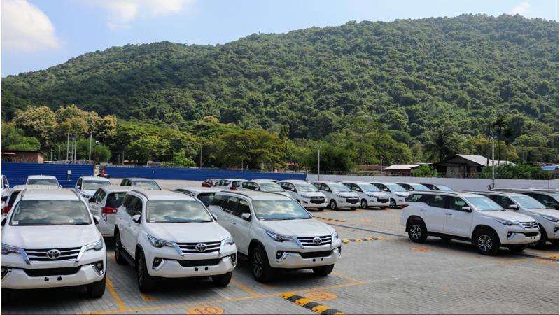 Toyota India inaugurates its first regional stockyard in Guwahati