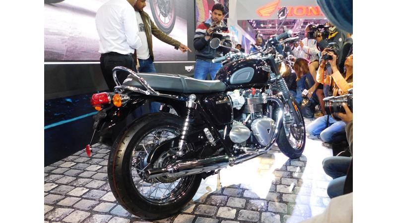 2016 Auto Expo: Triumph India officially launches new Bonneville range