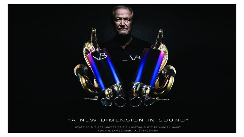 Valentino Balboni to make aftermarket parts for supercars