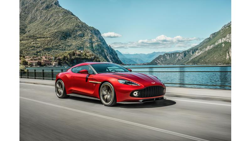 Aston Martin introduces the limited edition Vanquish Zagato Coupe