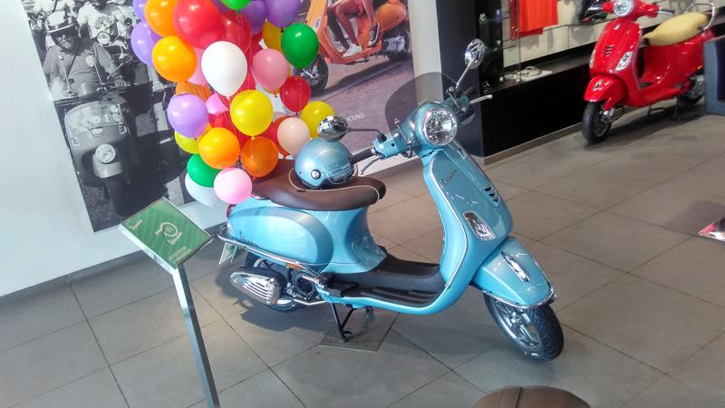 Vespa launches 70th Anniversary Edition at Rs 96,500
