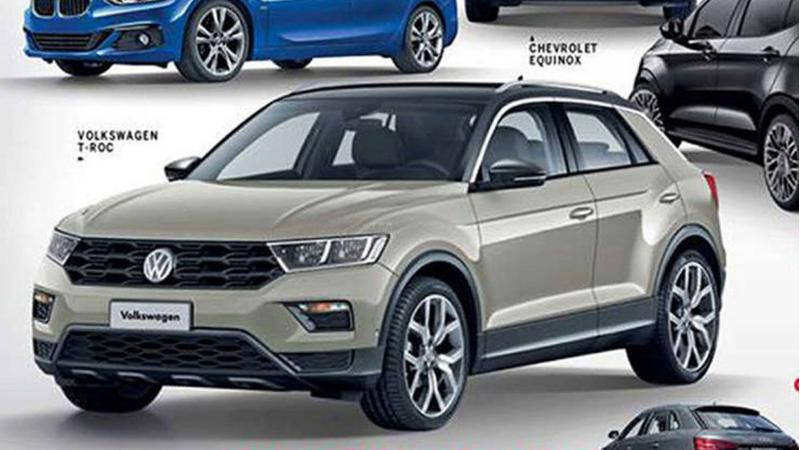 Production-spec Volkswagen T-Roc images leaked