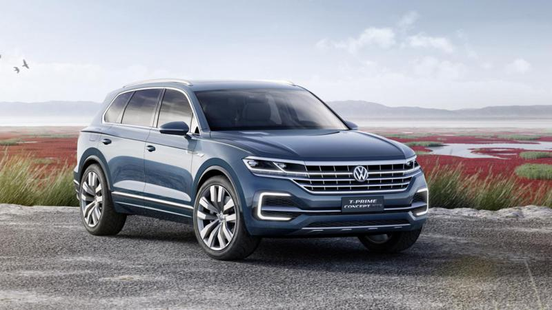 Volkswagen unveils new T-Prime hybrid SUV concept at Beijing