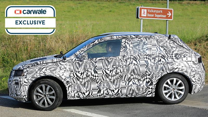 2018 Volkswagen Polo-based SUV spotted on test