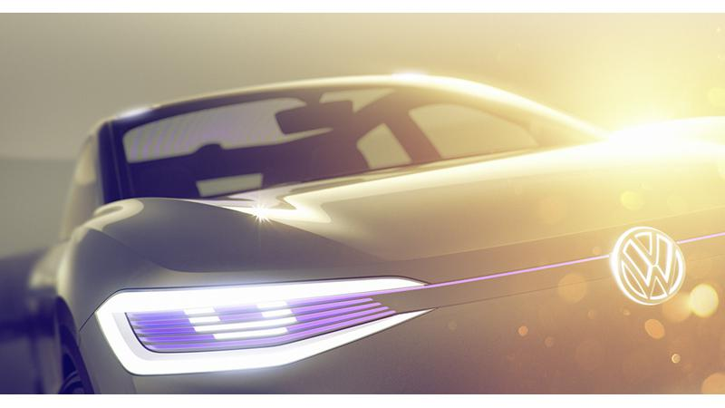 Volkswagen teased new I.D. crossover-coupe concept