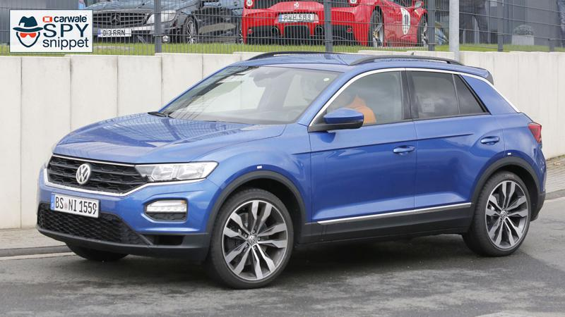 Volkswagen T-Roc R spied on the Nurburgring