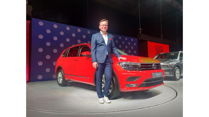 Volkswagen Tiguan AllSpace launched in India at Rs 33.12 lakhs