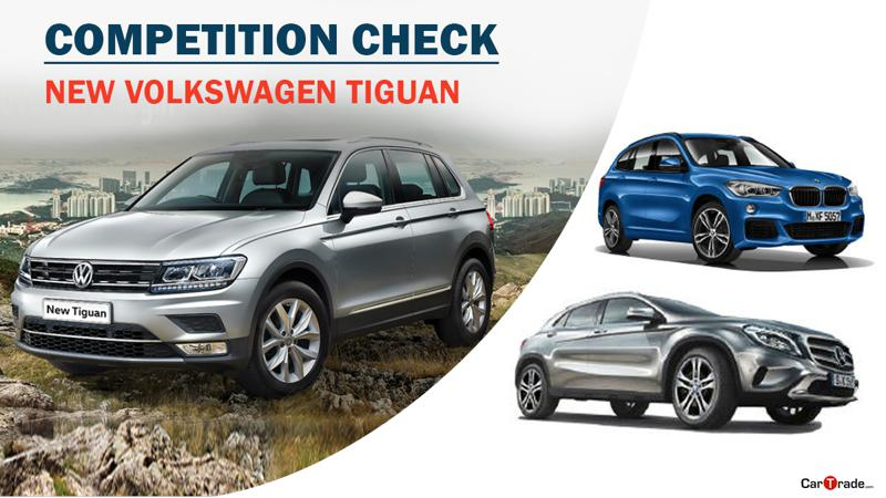 Competition check: Volkswagen Tiguan